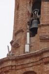 antenas en la torre