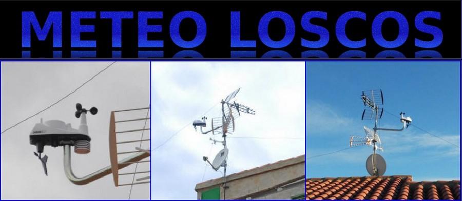 La informacion meteorologica de Loscos, en tiempo real