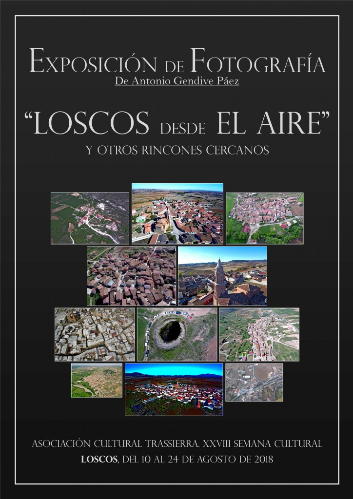 Expofoto de Antpnio Gendive, Loscos desde el aire.