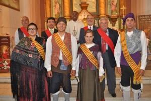 Majos, ayuntamiento, cura , dia San Roque